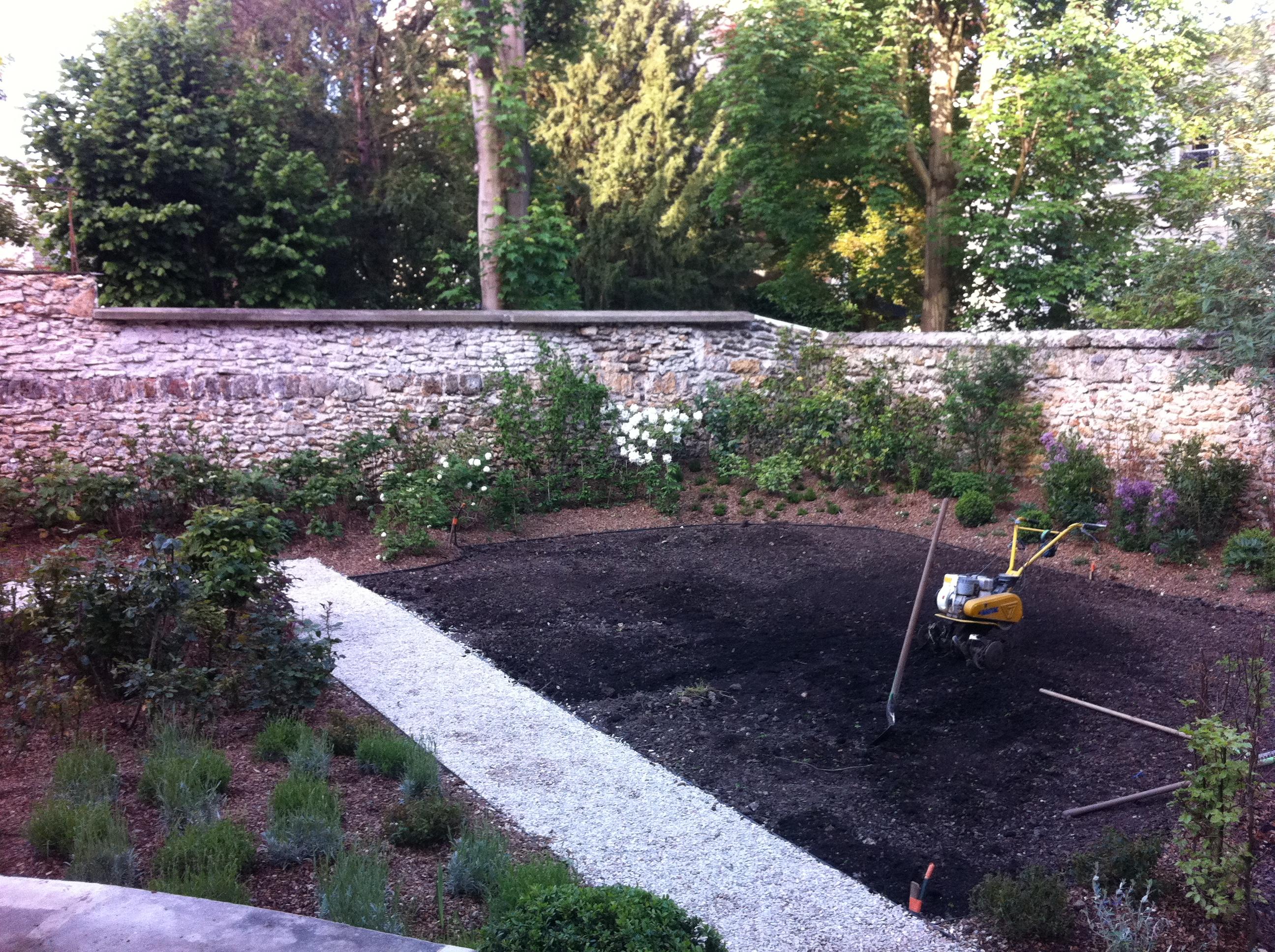 Yvelines 78 un jardin for Rez de jardin yvelines
